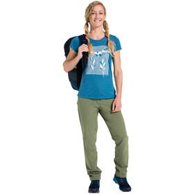 VAUDE Skomer Print Camiseta Mujer, kingfisher uni